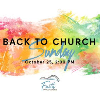 Sunday, October 25   2 PM