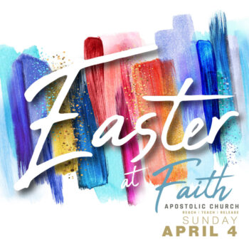 Sunday, April 4, 2 PM