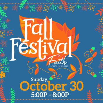 Sunday, October 30 | 5-8 PM