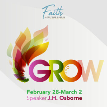 Sunday-Tuesday, February 28 – March 2 | Speaker: Rev. J.H. Osborne
