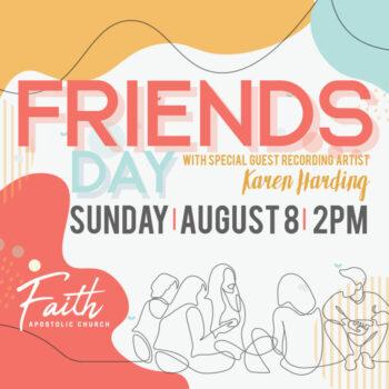 Sunday, August 8   2 PM