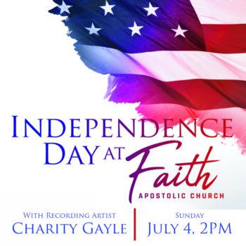 Sunday, July 4   2 PM